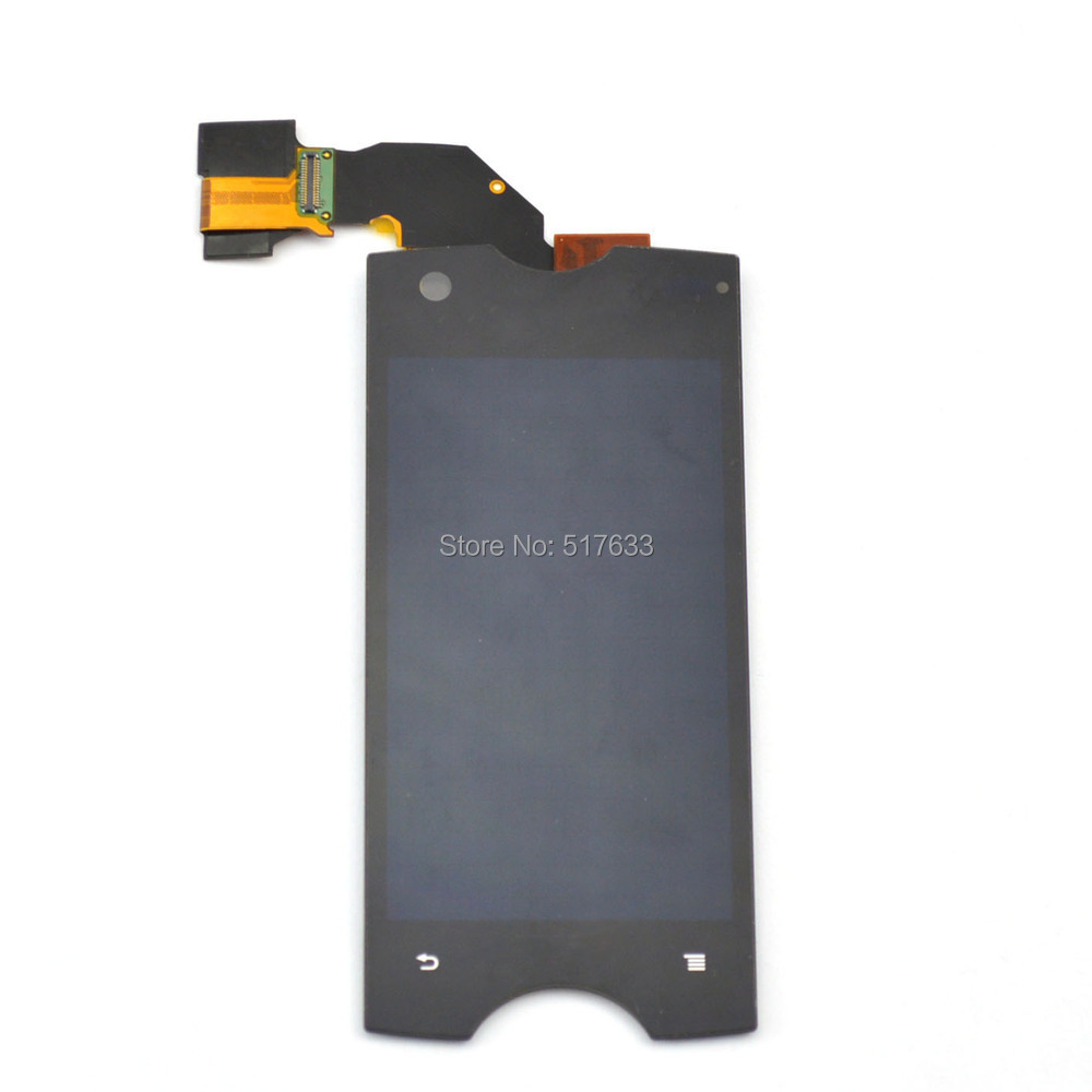 For Sony Ericsson Xperia Ray ST18i ST18 lcd display+glass touch screen digitizer assembly,free shipping+track code(China (Mainland))