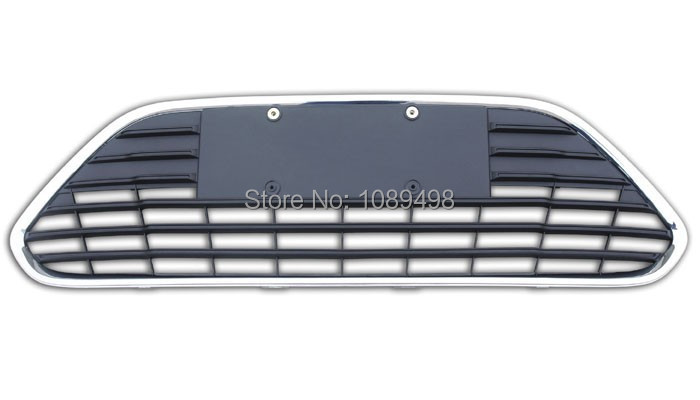 1 PC chromed frame front bumper lower grille for Ford Focus 2 II 2009-2011 four door<br><br>Aliexpress