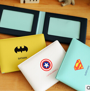 Novelty Super Hero Cartoon Silicone Card Cover Bus Bank Id Card Case Holder(China (Mainland))