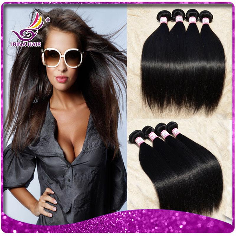 Outre human hair cheap straight peruvian virgin hair 3pcs TOP highlighted short hairstyles for mature women thick hair bundles(China (Mainland))