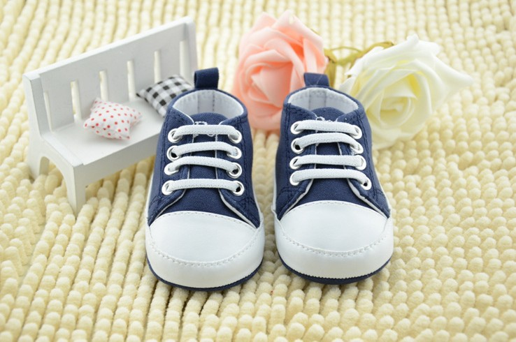 2014 New baby toddler shoes polo infant shoes navy blue baby casual shoes soft bottom antiskid baby first walker shoes 3pair/lot