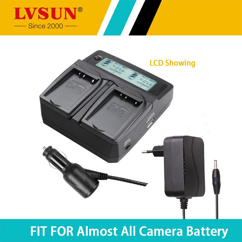 LVSUN Universal DC & Car Camera Battery D-LI8 DL-I8 Charger for Pentax Optio A10 A20 A30 A40 L20 T10 T20 W10 W20 WP WPi X S S4(China (Mainland))
