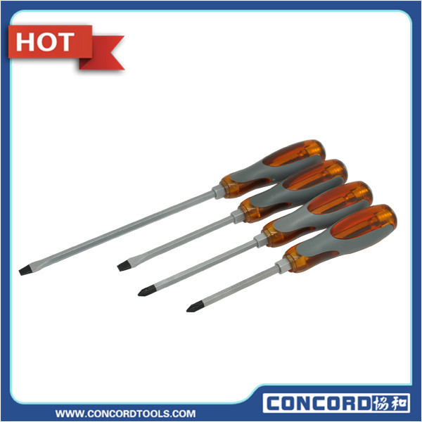 "4 Pcs 8"" 9"" 12"" screw driver bit repair toolS Fixing Kit phillip slotted Multi-function utility magnetic screwdriver set(China (Mainland))"