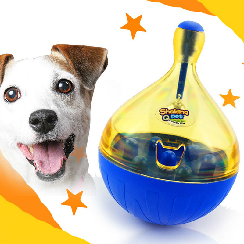 ASLT Good Tumbler dog food Leakage Toy Ball products for pets dog toys for dogs pet toys dog accessories,fun and tasty(China (Mainland))