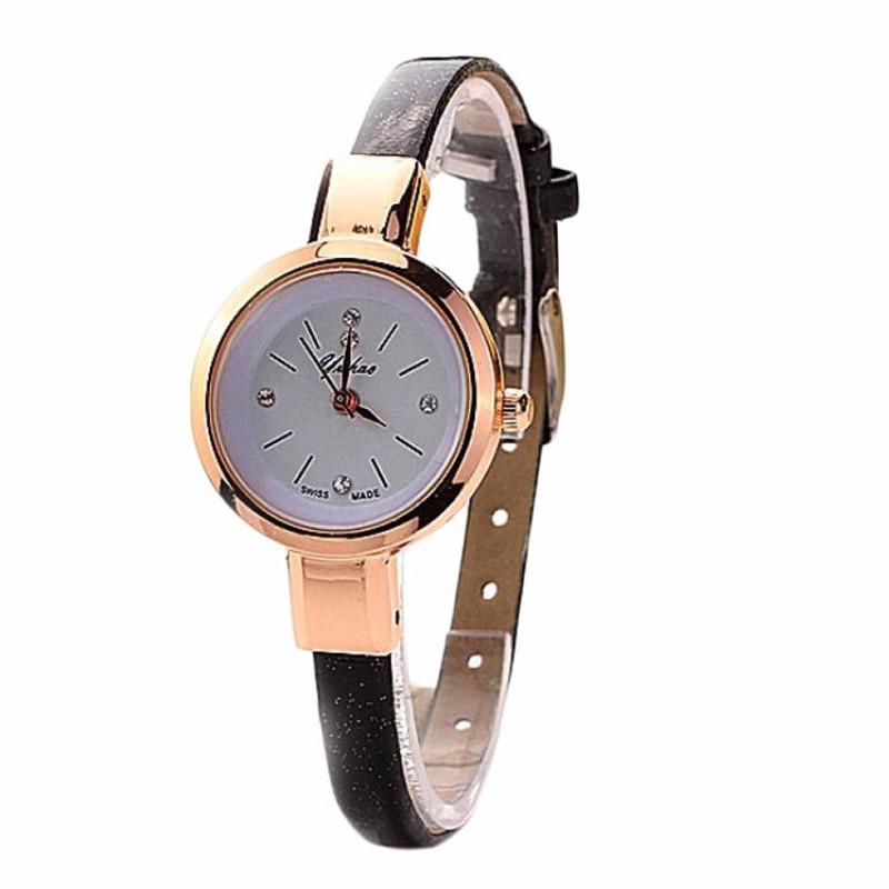 Гаджет  2015 Luxury Brand Women Whatch Quartz Watches Wristwatch Ladies Watch Clock Casual Watch Leather Bracelet Watch relogio feminino None Часы