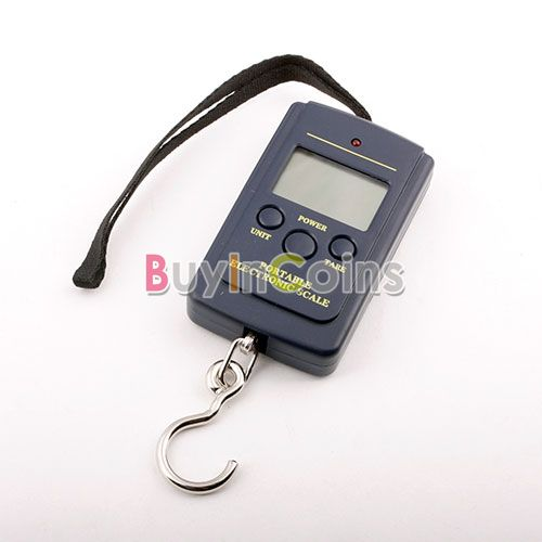 Digital Luggage Hanging Fishing Weight Scale 20g-40Kg US AS #1694 (China (Mainland))