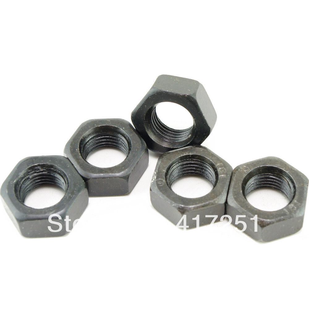 Lot25 Metric M14*1.5mm Fine Pitch Thread Nuts Black Finish<br><br>Aliexpress