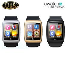 2015 New Bluetooth Smartwatch U18 Smart U Watch Android 4.4 Wristwatch W/ GPS Wifi 4G ROM For Samsung Apple HTC Smartphone