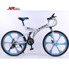 Mountain bike bicycle road bikes 21 speed 26 inch one Wheel folding bicycle xirui X9 mountain bicycles bike for Mens female boys(China (Mainland))