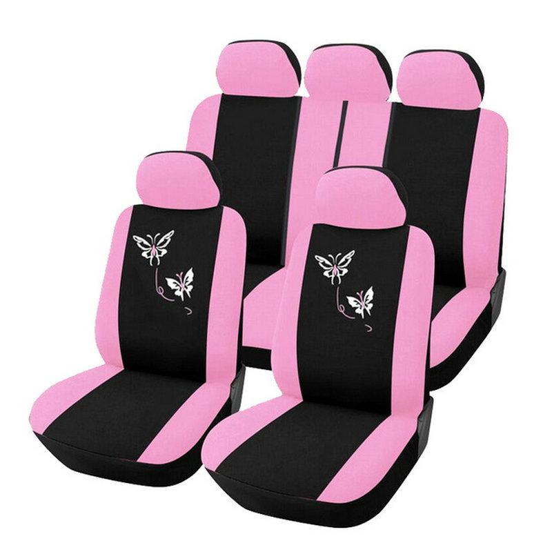 Online kopen wholesale roze stoelhoezen auto uit china for Groothandel interieur accessoires