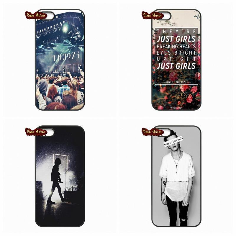 For iPhone SE Samsung Galaxy Ace 2 3 4 A3 A5 A7 J1 J5 J7 Core 2 Alpha A9 E5 E7 THE 1975 BRITISH BAND Phone Cover Case(China (Mainland))