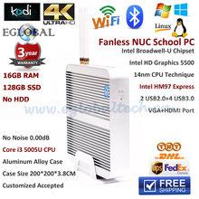 Fanless Mini Nettop Windows Core i3 5005U Mini PC 4K Ultra HD 3D Blu Ray Mini PC Windows 10 Core I5 4200U Mini Computer USB 3.0(China (Mainland))