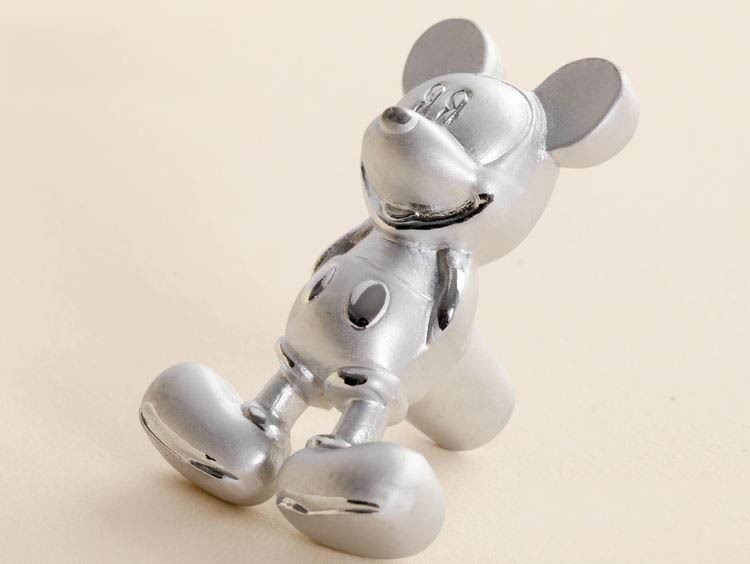 Lot of 10 Modern Style Cartoon Mickey Mouse Aluminum Cabinet Draw handle(China (Mainland))