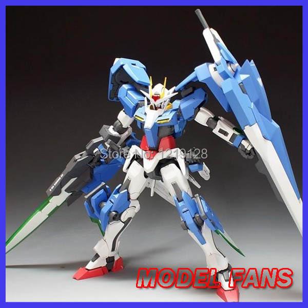 MODEL FANS DABAN MG assembly MODEL FANS Gundam model 1:100 MOBILE SUIT Gundam OO Seven Swords Meister Celestial Being Setsuna F(China (Mainland))