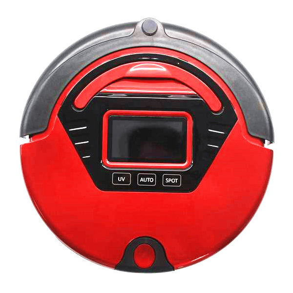 Multifunction Auto Robot Vacuum cleaner,(Sweep,Vacuum,Mop,Sterilize),LCD Screen,Virtual Wall,Self Charge(China (Mainland))