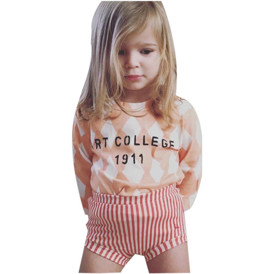 Newly Baby Kids Girls Boys Harem Pants Bloomers Striped Pattern Print Short Pants(China (Mainland))