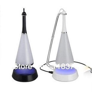3W  Mini Computer Speaker Touch Sensor LED Desk Table Lamp Speaker