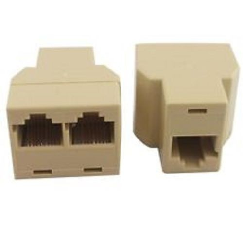 Гаджет  Free shipping 10PCS RJ45 Network Lan Splitter Extender Connector Plug +tracking number free shipping None Компьютер & сеть