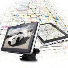 Car 7 inch GPS Navigation Bluetooth AV-IN MP3 128MB RAM 4GB with Western EU Map