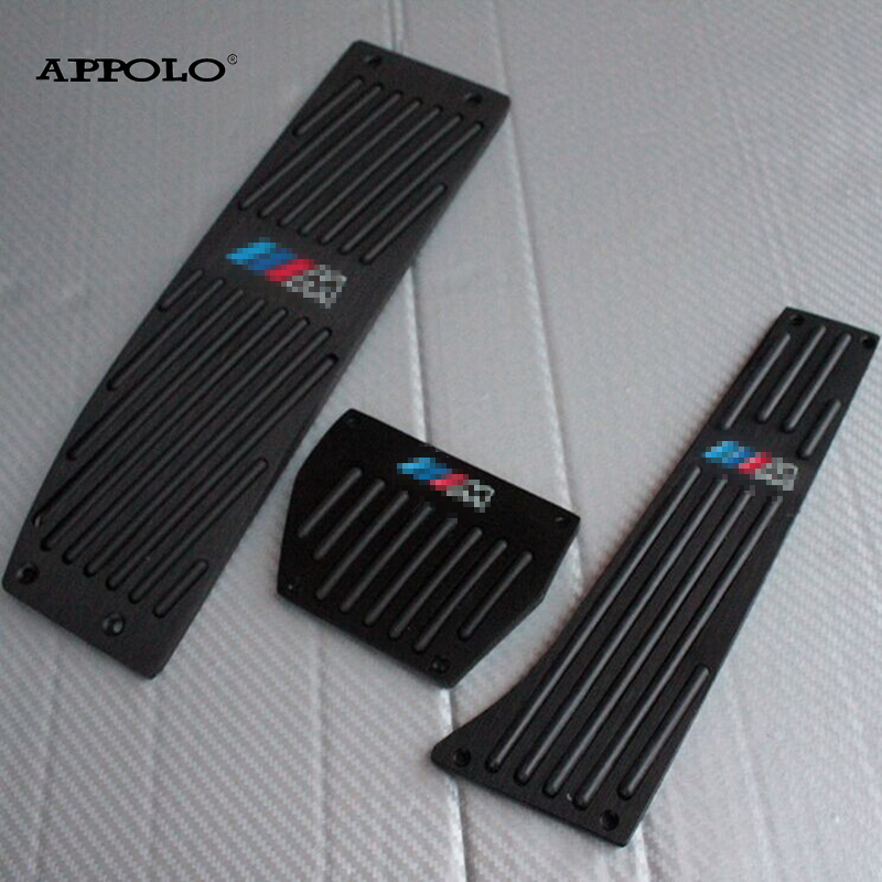 3pc/Set AT Special For BMW Pedals Fuel Brake Foot Rest Pedales Pedais Car Accelerator Board For E X1 X3 3 New1 Series Automatic<br><br>Aliexpress