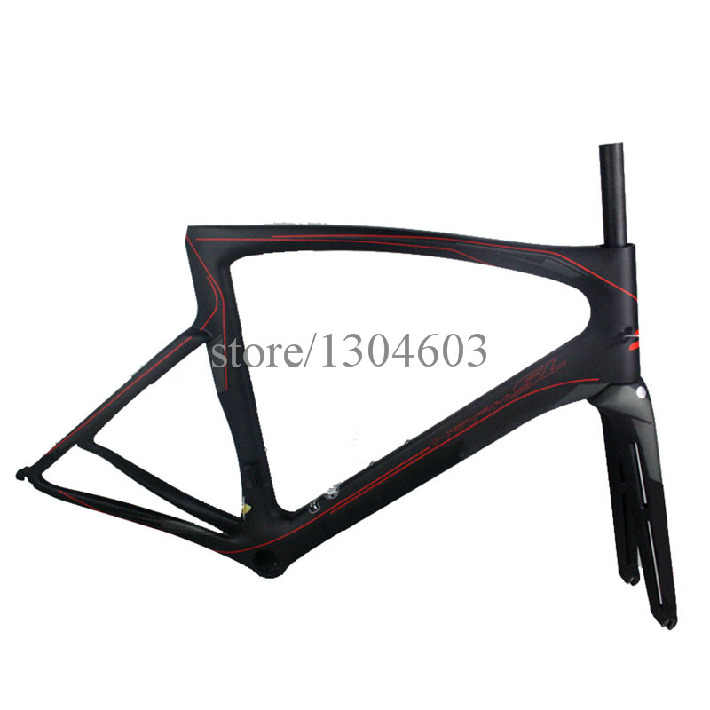 2016 hot sale carbon road bike frame full carbon fiber carbon bicycle road frame T1000 1k ud carbon frame PF30 high quality(China (Mainland))