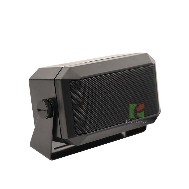 car radio loudspeaker ES-604 big sound for ham radio QTY KT-8900 KT-8900R for mobile radio TH-7800 TH-9800 horn black ES604(China (Mainland))