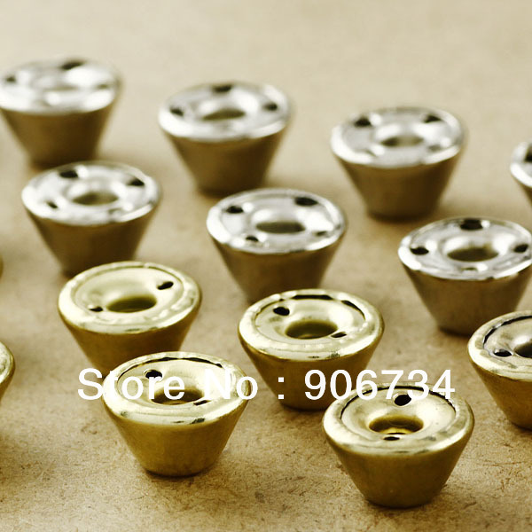 New Free Shipping 200pcs/Pack 10mm DIY Iron Punk Style Barrel-Shape Gold Rivet Free Shipping<br><br>Aliexpress
