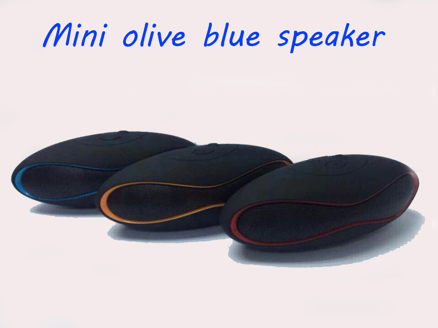 Best Buy Mini Olive Portable Wireless Bluetooth speaker Boombox Audio mini-Speaker For iPhone Samsung Laptop Tablet PC(China (Mainland))