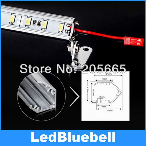 V-Aluminum sheet LED bar lights With Support , LED 5730 , 72 LEDs/meter, Lighting bar for desk lamp, counter and Jewery showcase<br><br>Aliexpress