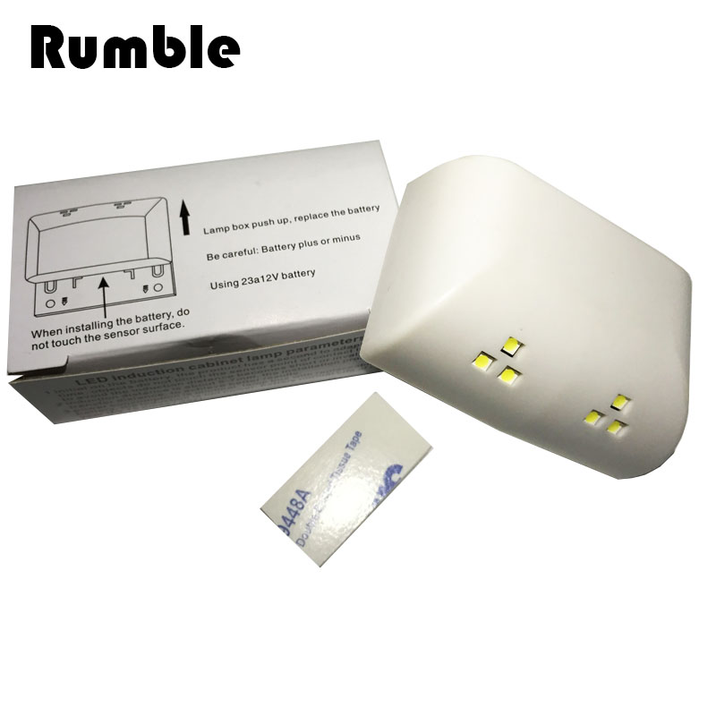 2pcs 0.25W LED Mini Wireless Hinge Cabinet Cupboard Wardrobe Kitchen Closet Bedroom Living Room Automatic Sensor LED Night Light(China (Mainland))