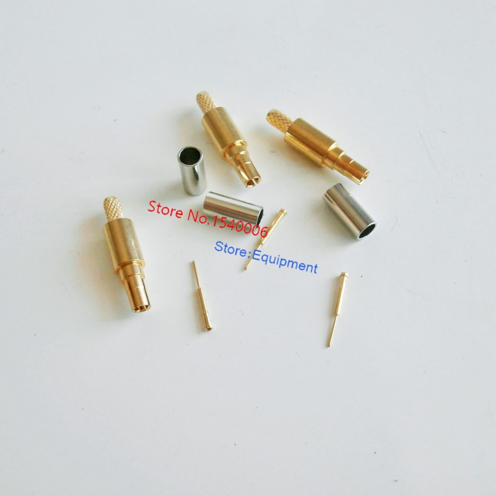 CRC9 male plug Connector straight crimp for RG316 RG174 RG178 RF Coaxial Cable<br><br>Aliexpress
