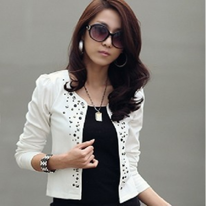 White Jacket Ladies Promotion-Shop for Promotional White Jacket ...