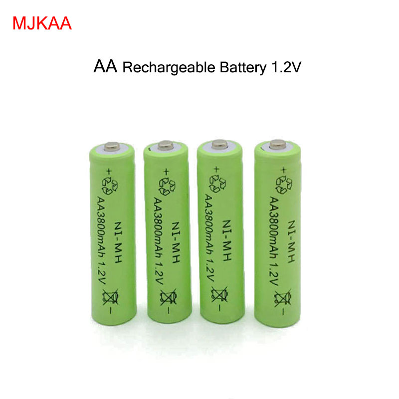 4pc a lot Ni-MH 3800mAh AA Batteries 1.2V AA Rechargeable Battery NI-MH battery for camera,toys(China (Mainland))