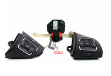 Full New High Quality 5C0959537A/5K0959542C Multifunction Steering Wheel Button+Module For VW Tiguan /Golf /Jetta/ EOS(China (Mainland))