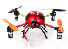 2.4Ghz 4CH RC Drone Quadcopter Ladybird 4-Axis GYRO Beetle 3D Tumbling Fly UFO Aircraft rc quad helicopter Four axis ladybugs
