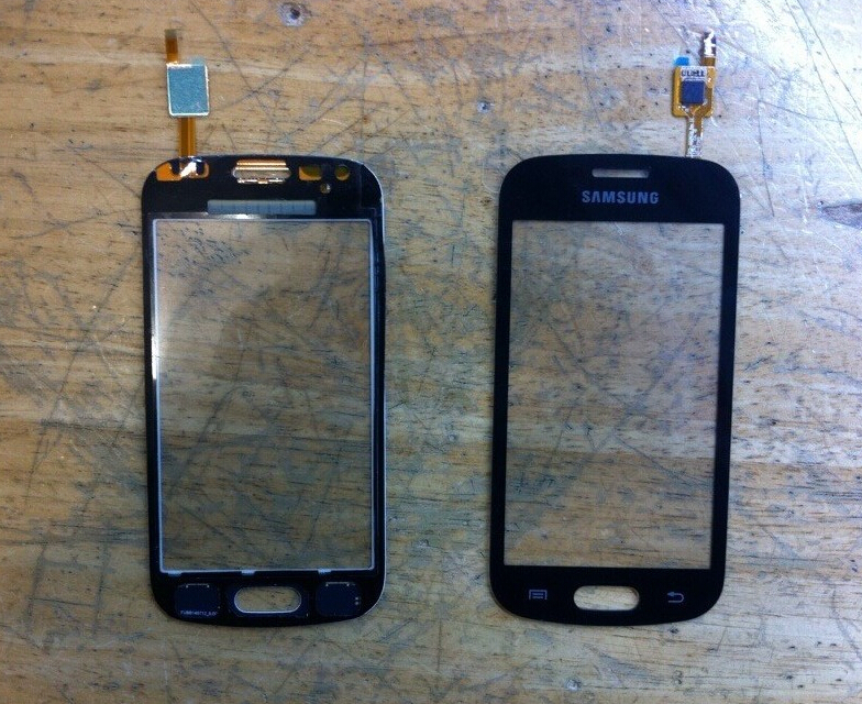 FOR Trend Lite s7390 touch screen s7390 glass lens s7392 touch s7390 outter Panel S7392 Front digitizer BLACK or WHITE
