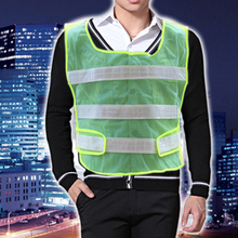 Yellow Reflective Safety Vest High Visibility chaleco reflectante Neon Safety Clothes Running Cycling Bike Outdoor Sport Work(China (Mainland))