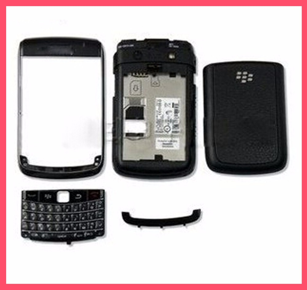 10pcs/lot Replacement Parts For BLACKBERRY Bold 9700 9780 Housing Full Set Cover Case Accessories Free ship(China (Mainland))