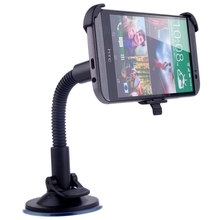 For HTC ONE 2 M8 Car Windscreen Mobile Mount Holder Suction Plate 360 Rotation Stand holder Black(Hong Kong)