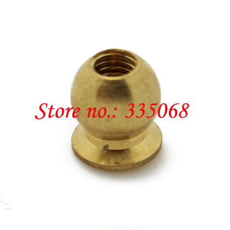 HENG LONG 3850-1 RC nitro car Sprint 1/10 spare parts no.Small ball sleeve with inner screw thread (that one used in servo arm)(China (Mainland))