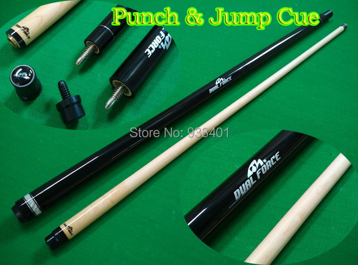 Hot!! New 58 inch 1/2 Split Quick Billiard Jump Break Cue Stick Snooker Pool Jump Billiard Cue Accessories Free Shipping(China (Mainland))