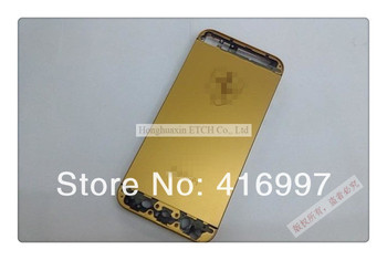 Replacement Metal Middle Frame + Back Cover Housing For iPhone 5 5G 5th Generation Gold