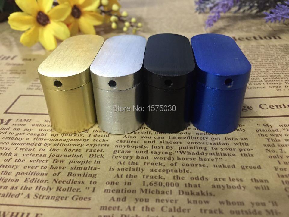 wholesale 4pcs/lot HOT creative Portable Metal rotation type folding Smoking tobacco pipe rolling machine weed pipe FreeShipping
