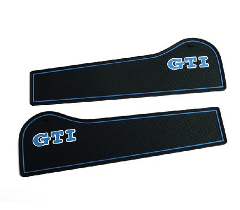 High quality Silica gel Gate slot pad,Teacup pad,Non-slip pad(2 pcs) For Volkswagen Golf 6,car styling(China (Mainland))