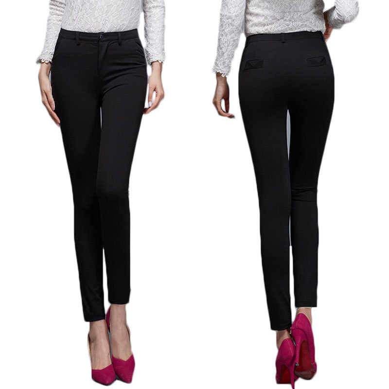 skinny black pants - Pi Pants