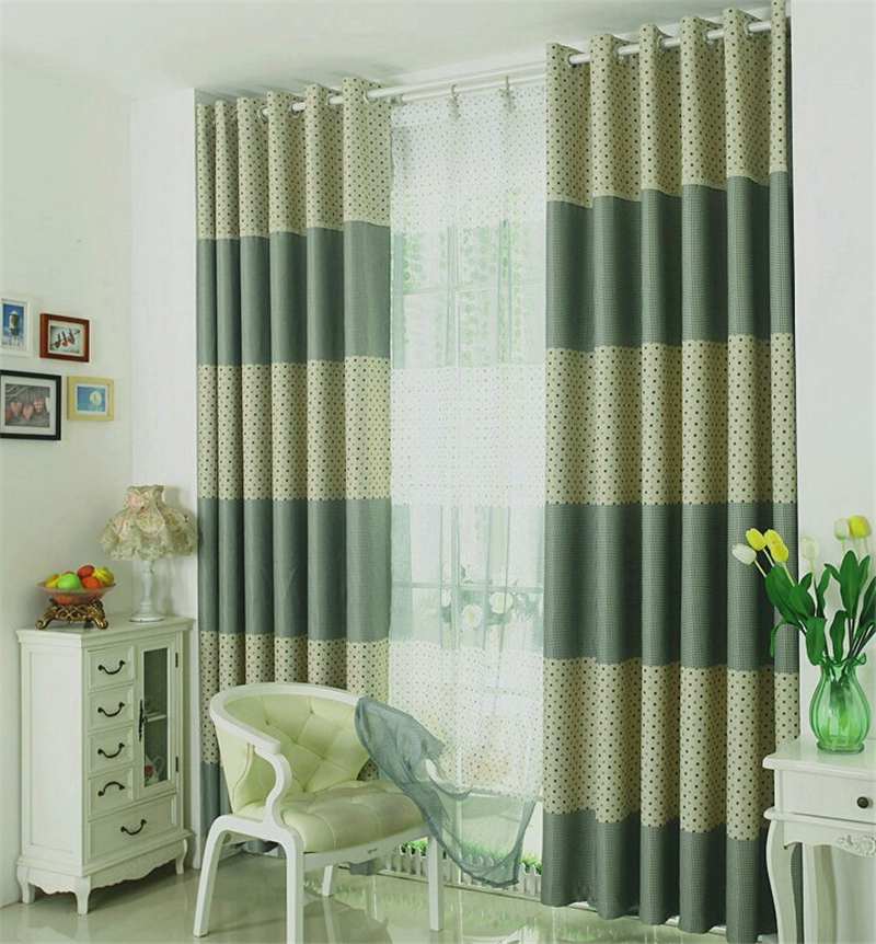 Custom High Quality Blackout Drapes Curtains Finished