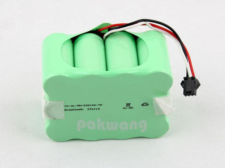 1 pc XR5100 battery 2200MAH robot vacuum cleaner Ni Battery original robotic vacuum replacement parts free shipping(China (Mainland))
