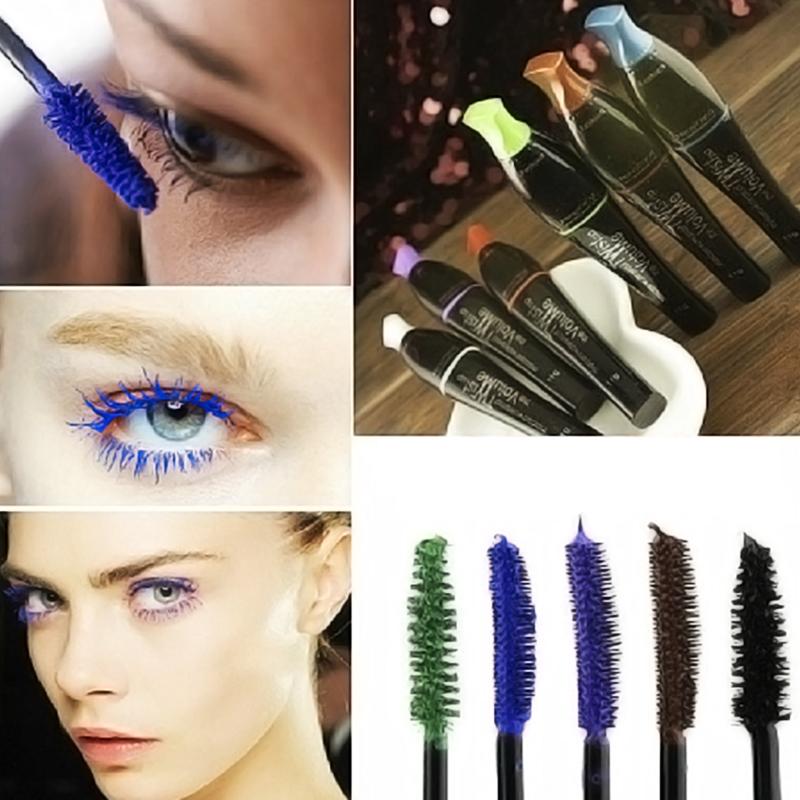 2017 new 1pcs Professional Waterproof long lasting Lengthen Eyelashes Mascara blue Color Easy Remove Mascara beauty #M01097