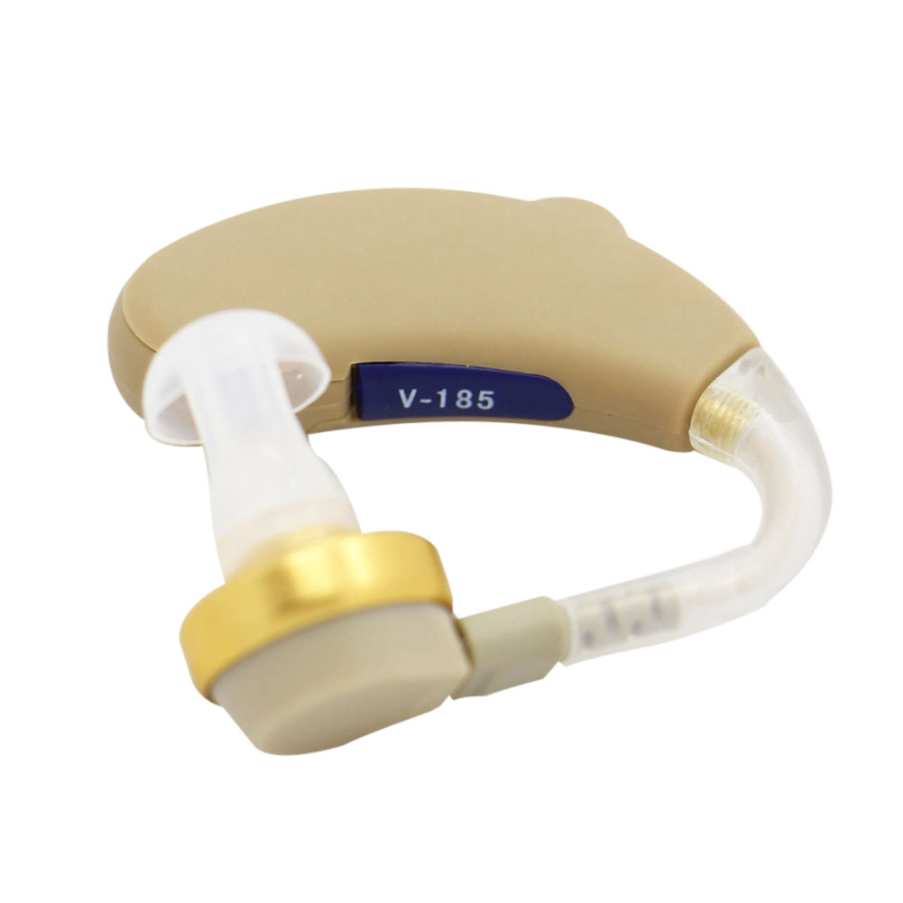 Mini Ear Hearing Aid Sound Amplifier behind the ear for Better Hearing Adjustable Ear Care(China (Mainland))