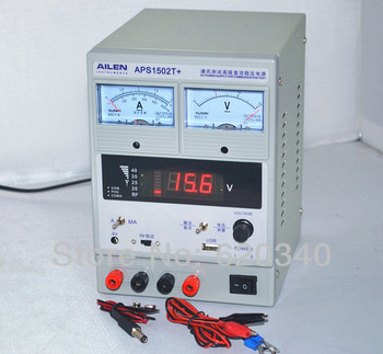 AILEN APS1502T+ DC power supply genuine test advanced mobile communications phone power Voltage measuring USB interface 15V 1A